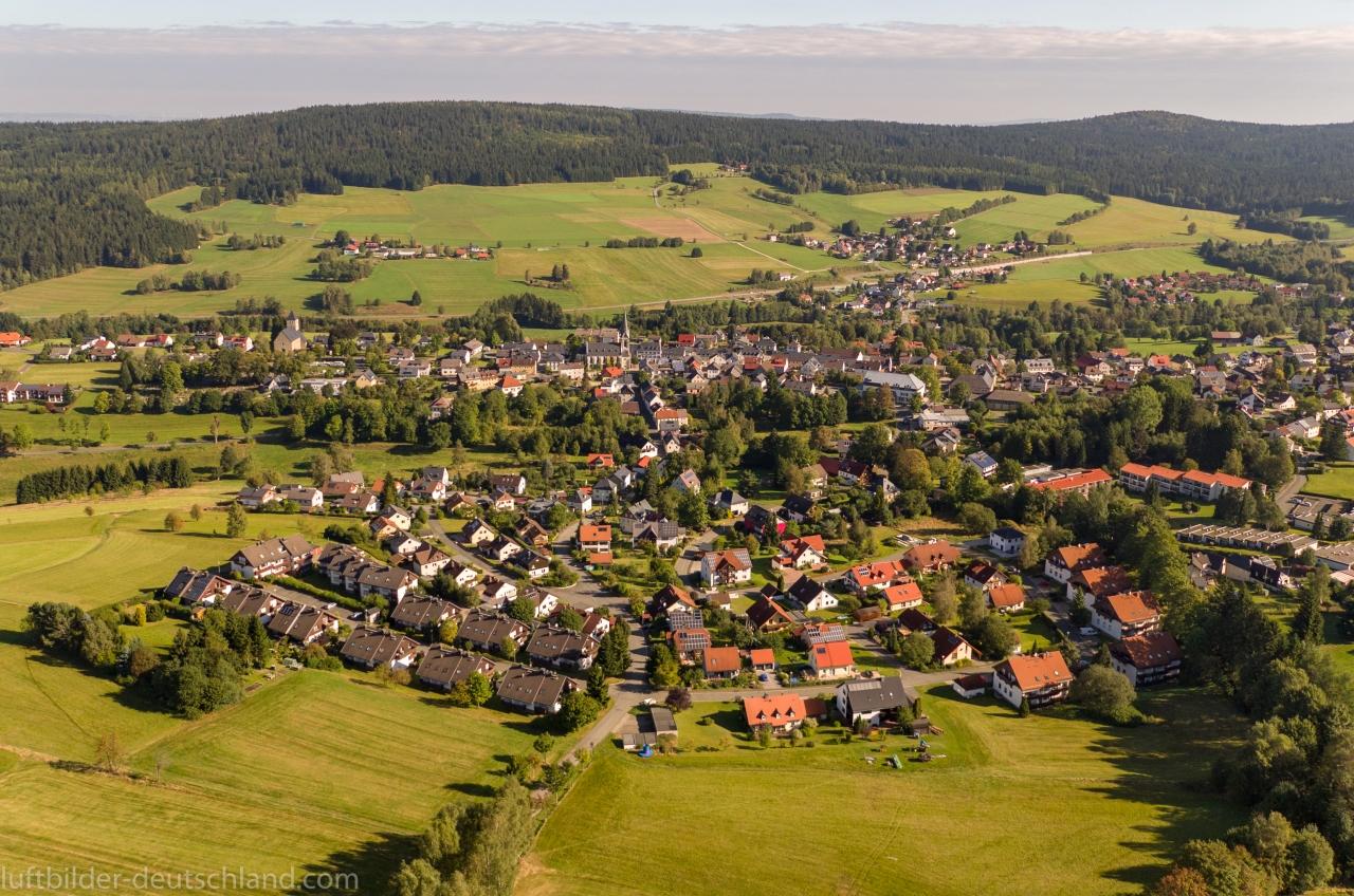 Bischofsgrün im Fichtelgebirge, luftbilder-deutschland.com