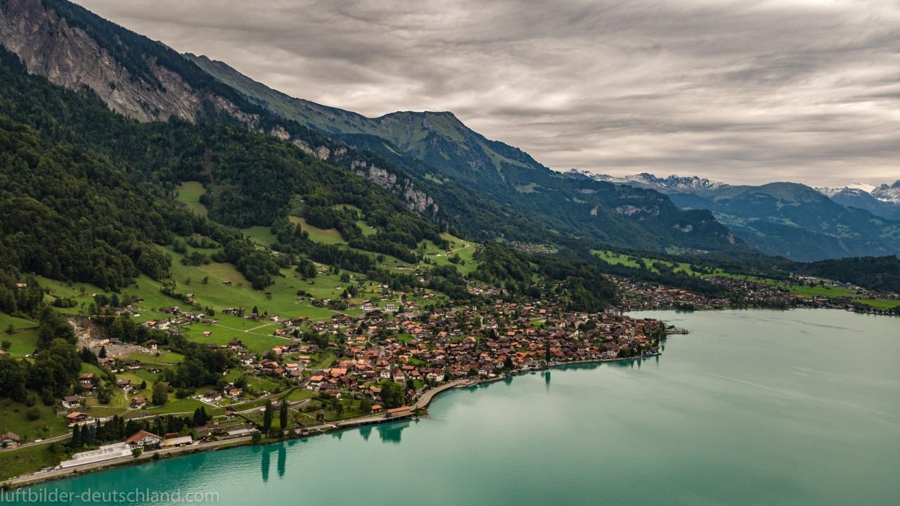 Luftbild Brienzersee, Brienz, Kanton Bern, Switzerland, luftbilder-deutschland.com