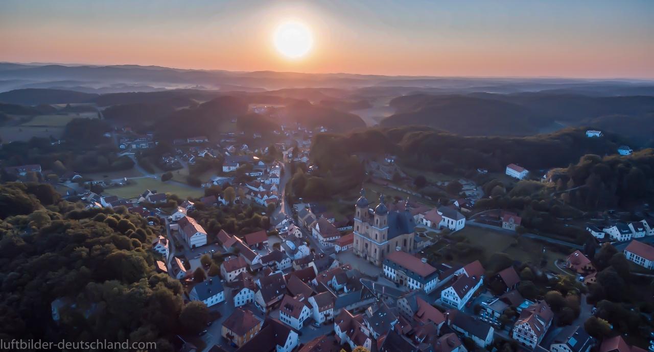 Gößweinstein, Fränkische Schweiz, Luftbild, luftbilder-deutschland.com