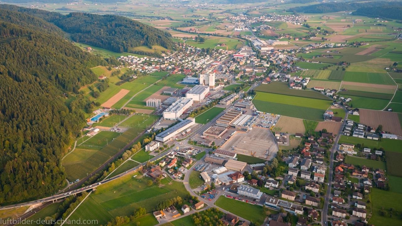 Dagmersellen, Altishofen, Schweiz, Luftbild, luftbilder-deutschland.com