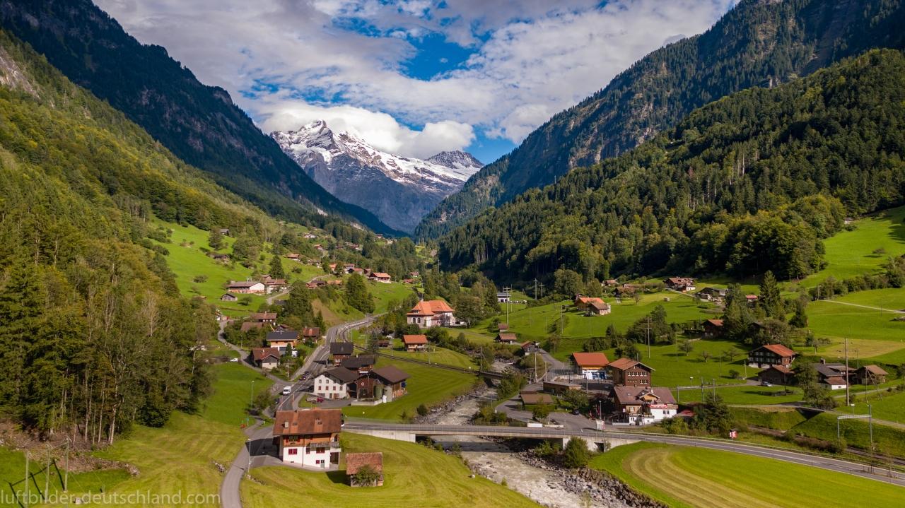 Grindelwald Umgebung, Switzerland, luftbilder-deutschland.com