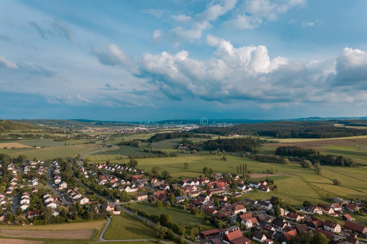 Ramsenthal Luftbild, Gemeinde Bindlach, luftbilder-deutschland, OliverRiess