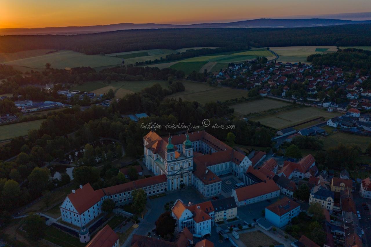 Waldsassen, Basilika, Kappl, luftbilder-deutschland.com © OliverRiess