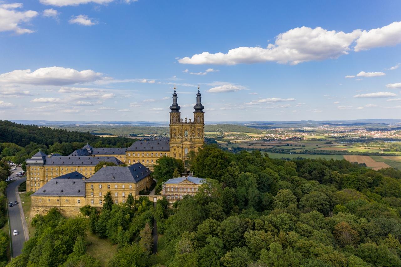Kloster Banz Luftbilder, luftbilder-deutschland.com © OliverRiess