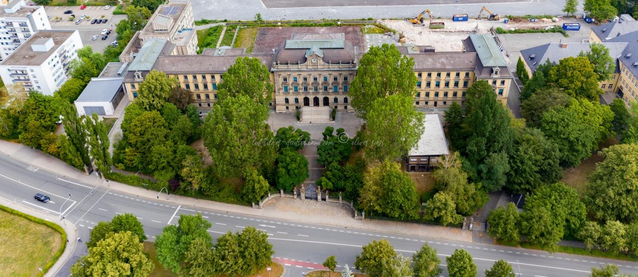 Schulen in Bayreuth Luftbilder, luftbilder-deutschland.com © OliverRiess