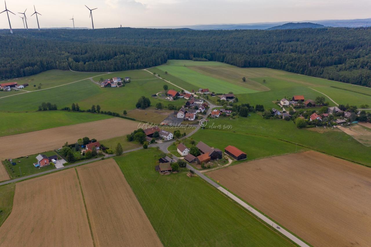 Luftbild Hörlasreuth, Luftbild Creußen, Luftbild Landkreis Bayreuth, Luftbild FränkischeSchweiz