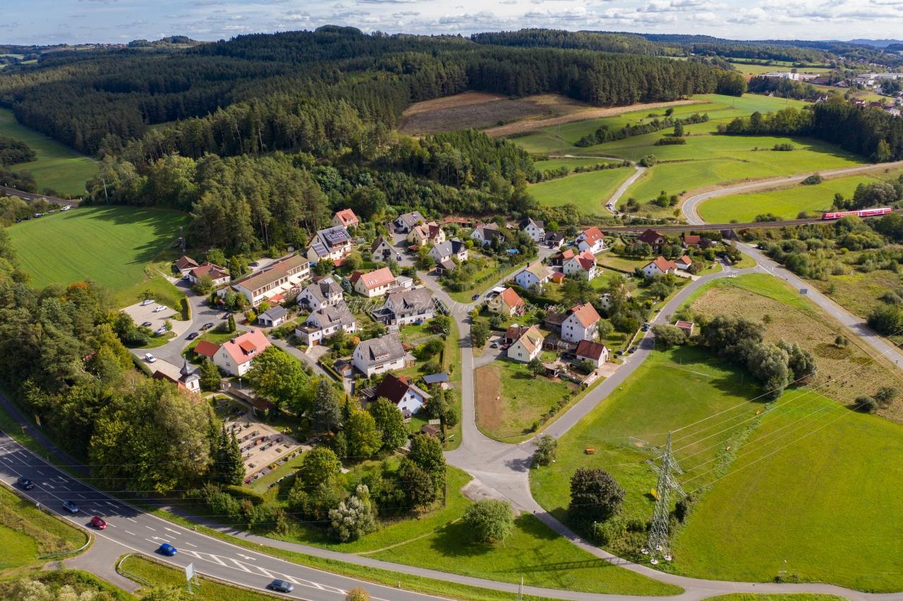 Luftbild Rosenhof, Luftbild Pegnitz, Luftbild Fränkische Schweiz, Luftbild LandkreisBayreuth