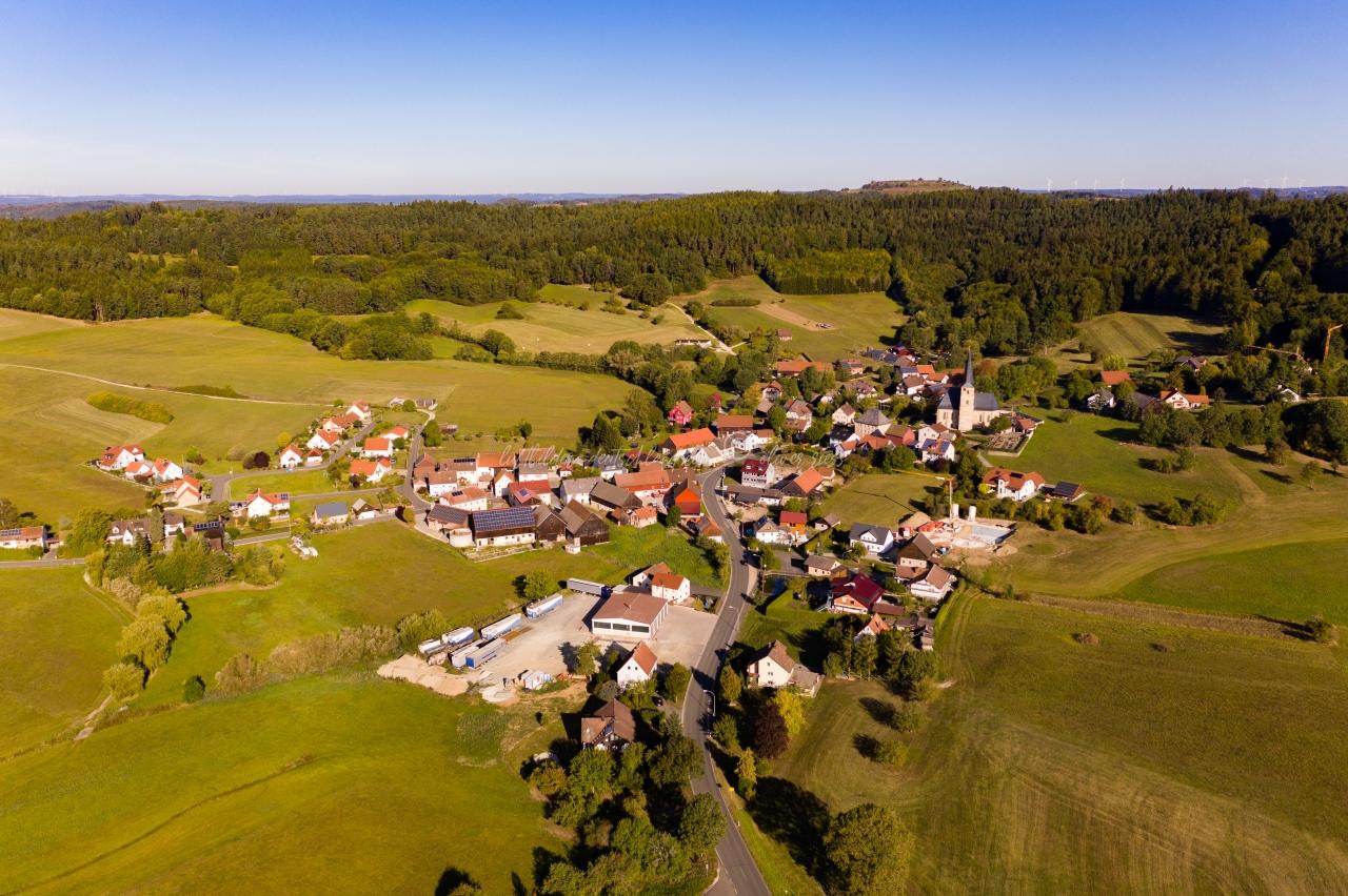 Volsbach / AhornthalLuftbild