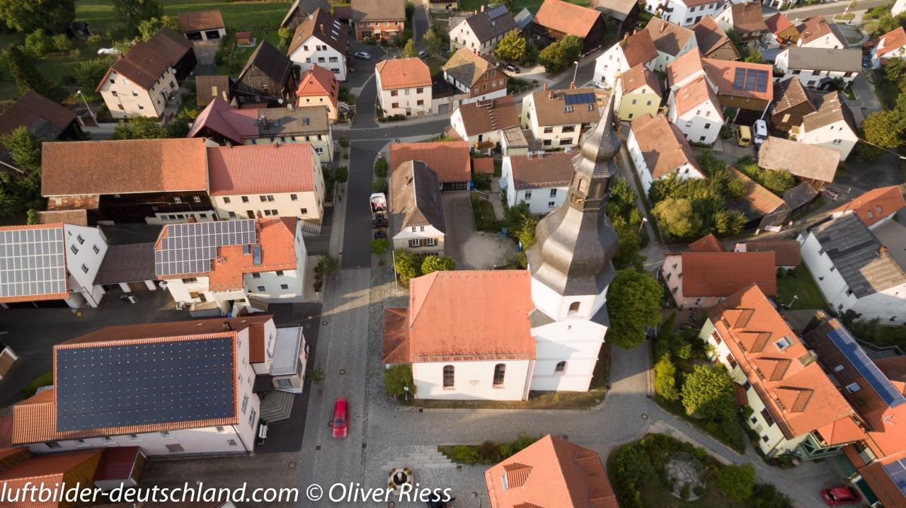 Luftbild Schnabelwaid, Luftbild Creußen, Luftbild Landkreis Bayreuth, Luftbild Fränkische Schweiz, LuftbildFranken