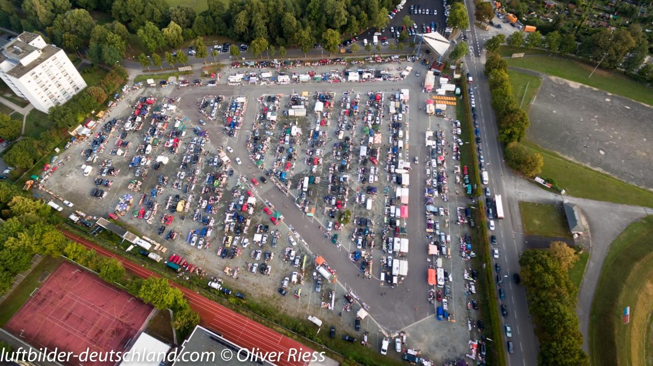 Luftbild Flohmarkt Bayreuth, LuftbildBayreuth