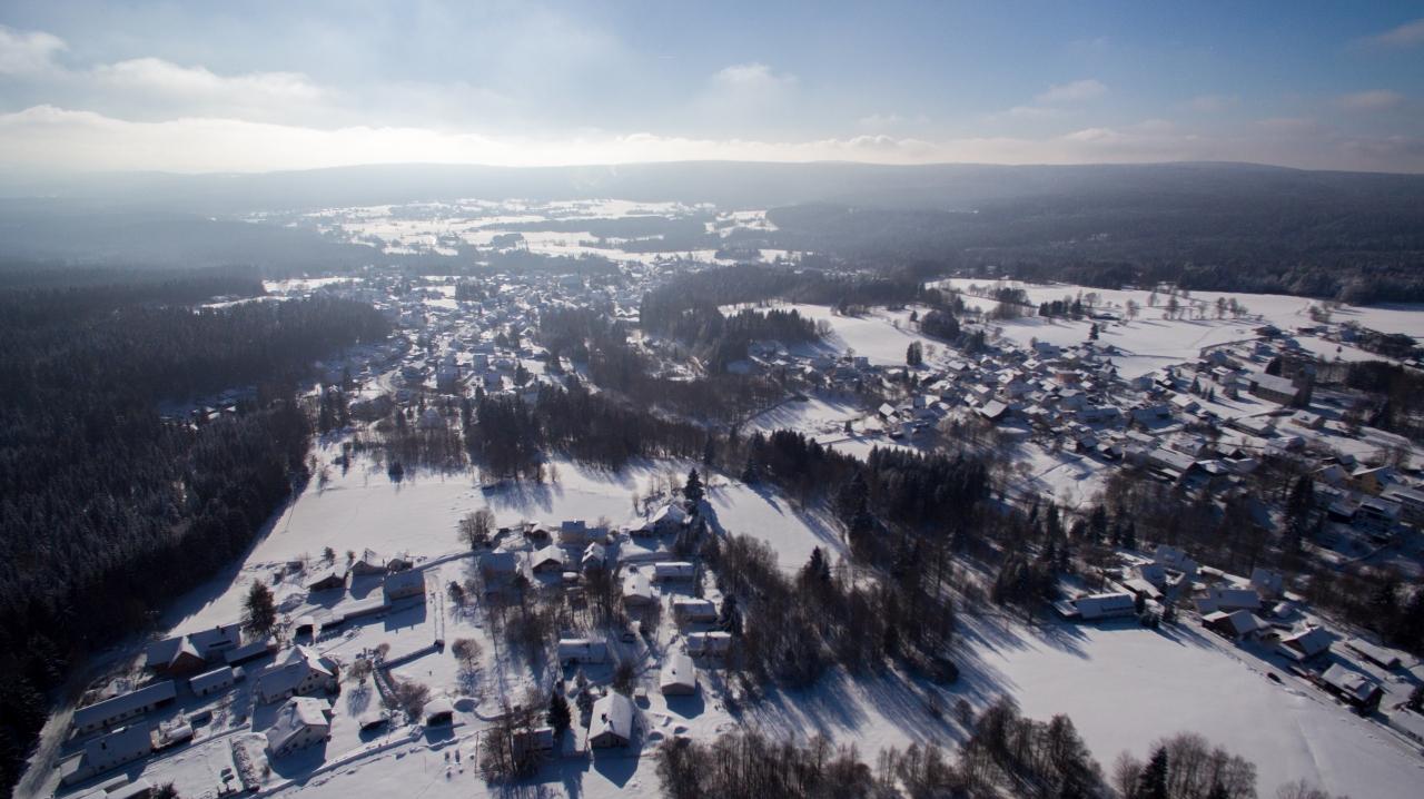 Luftbilder Fichtelgebirge, Luftbild Bischofsgrün, Luftbild Fleckl, Luftbild Mehlmeisel, LuftbildWarmensteinach