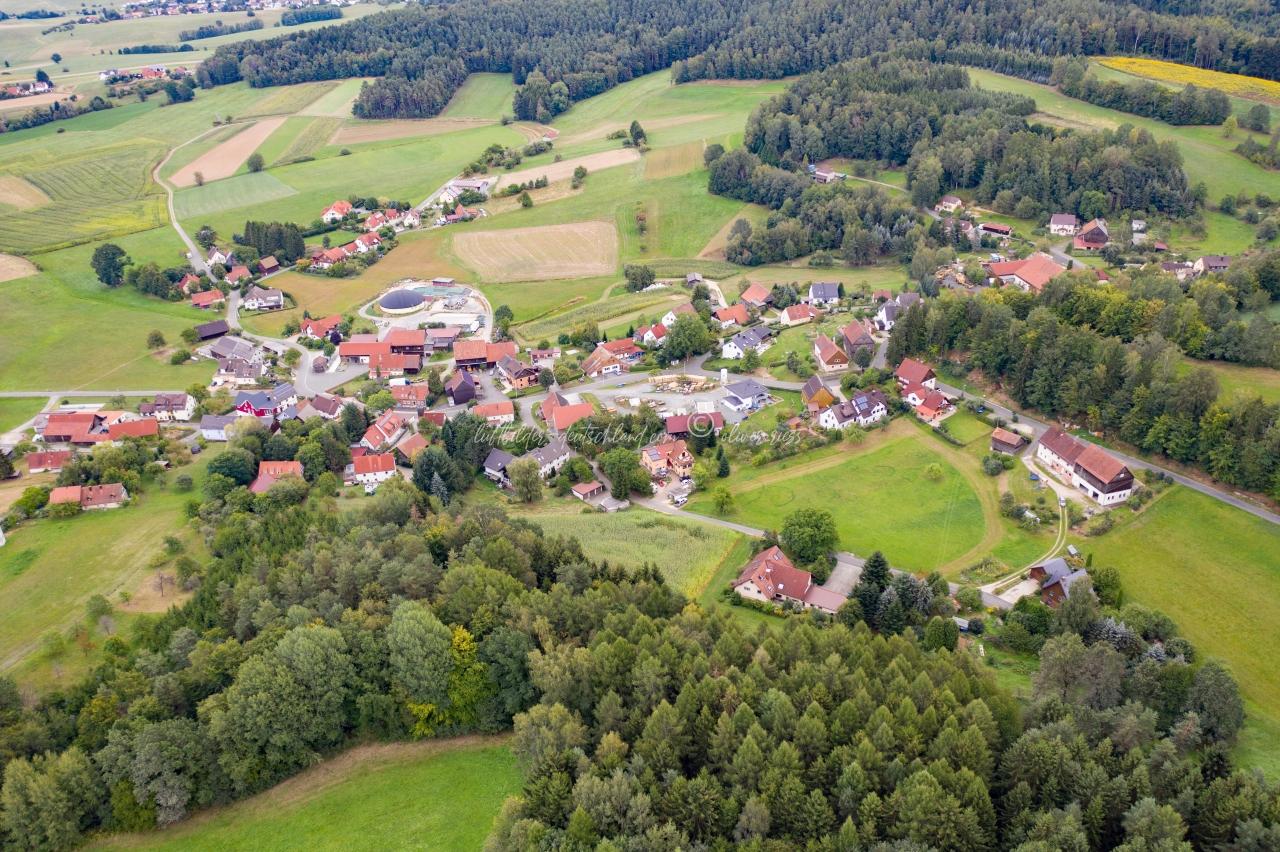 Luftbild Gollenbach, Luftbild Mistelgau, Luftbild Fränkische Schweiz, Luftbild Landkreis Bayreuth, LuftbildFranken