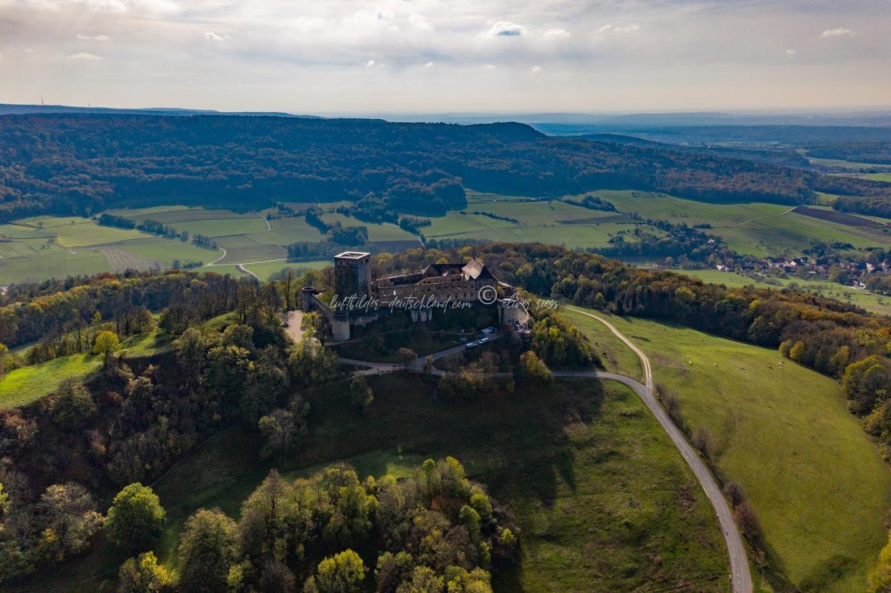 Luftbild Giechburg, Luftbild Scheßlitz, Luftbild Landkreis Bamberg, Luftbild Fränkische Schweiz, LuftbildFranken
