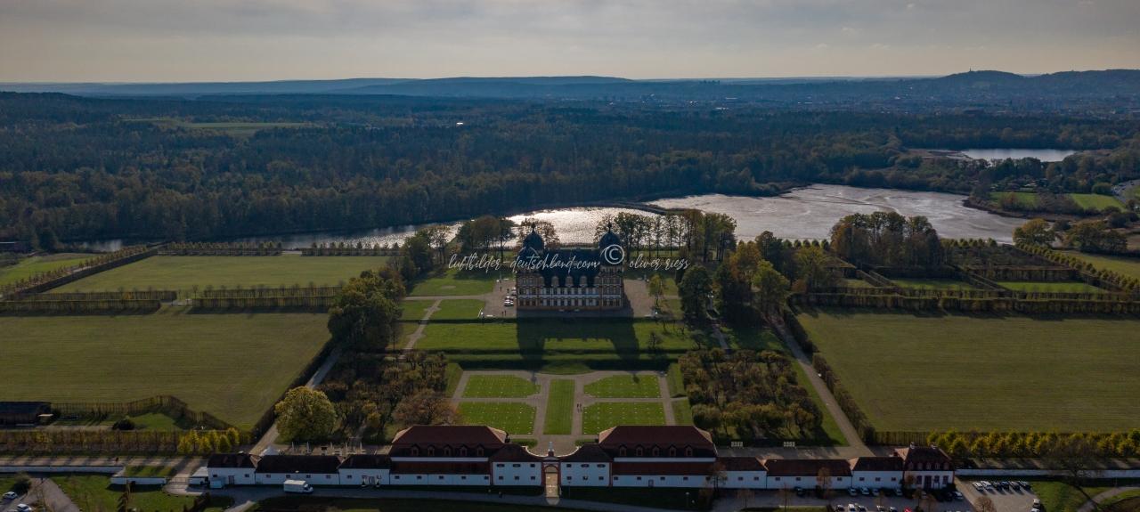 Luftbild Schloss Seehof, Luftbild Memmelsdorf, Luftbild Landkreis Bamberg, Luftbild Fränkische Schweiz, LuftbildFranken